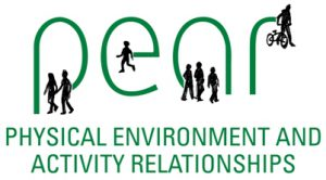PEAR Project logo (Physical Environment and Activity Relationships)