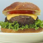 A cheeseburger