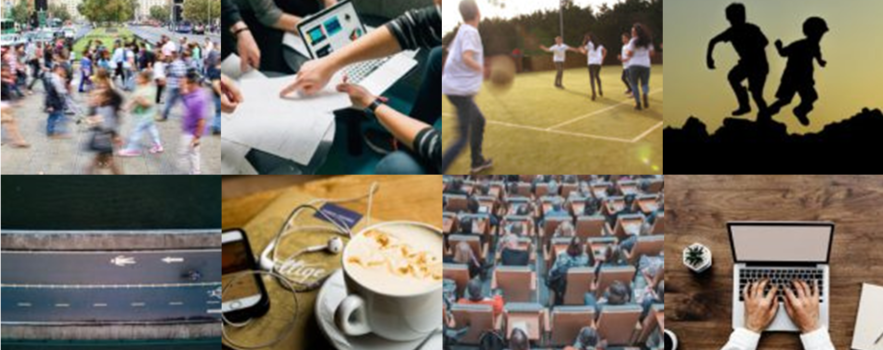 A collage of images relating to the July 2019 CEDAR Bulletin