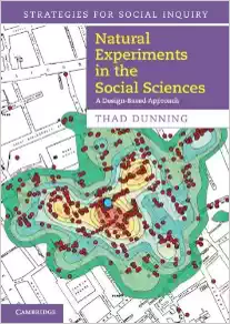 """Cover of """"Natural Experiments in the Social Sciences"""" by Thad Dunning"""