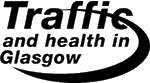 The Traffic and health in Glasgow logo